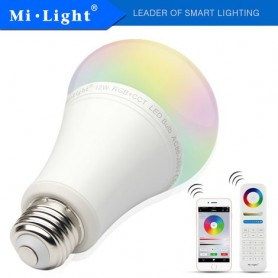 Lampara LED E27 Mi-Light 6w RGB+CCT