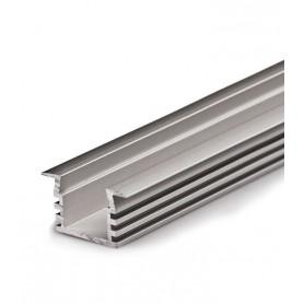 Perfil de aluminio de 2 metros empotrable LP2212