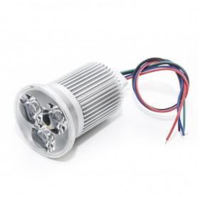 Lámpara RGB especial para DMX 3x3W 45º 12v