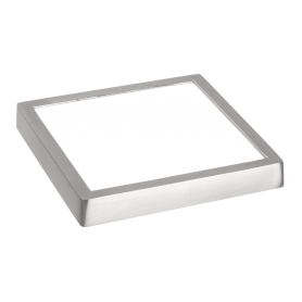 Downlight de superficie cuadrado 24w Niquel SUPER SLIM