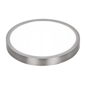 Downlight de superficie redondo 30w Niquel SUPER SLIM