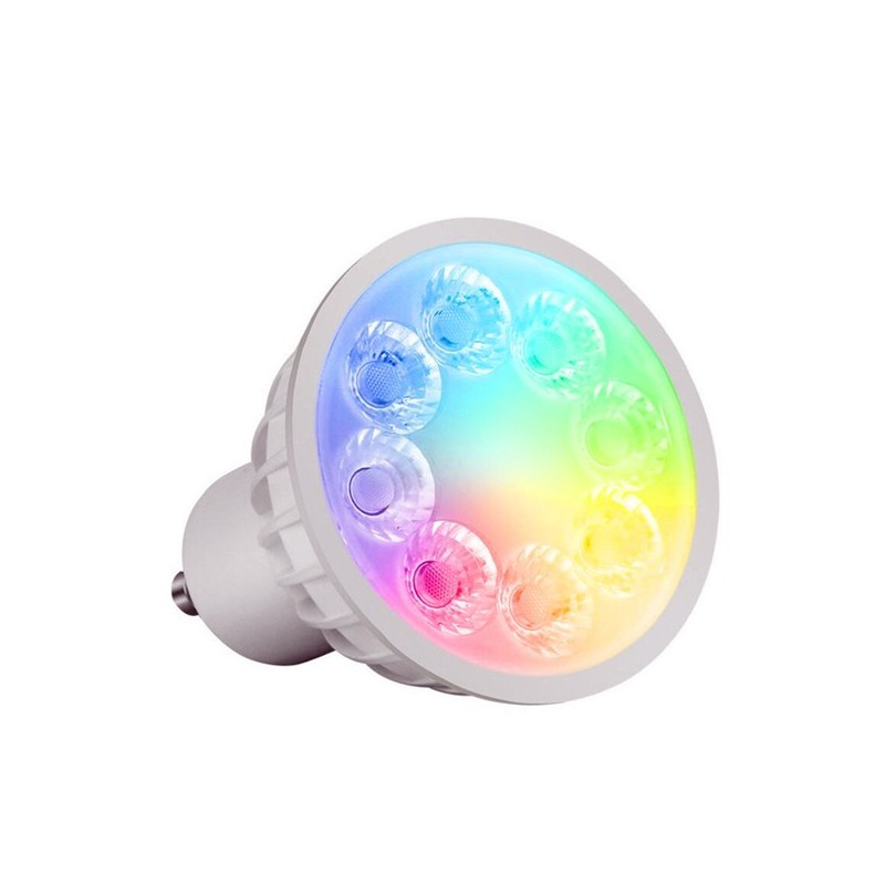 Lampara WIFI GU10 4w RGB + CCT (blanco dual) Mi-light