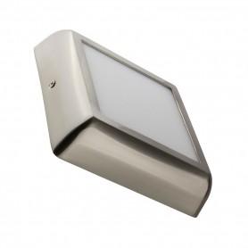 Downlight de superficie MODELO DESIGN Cuadrado 12w NIQUEL