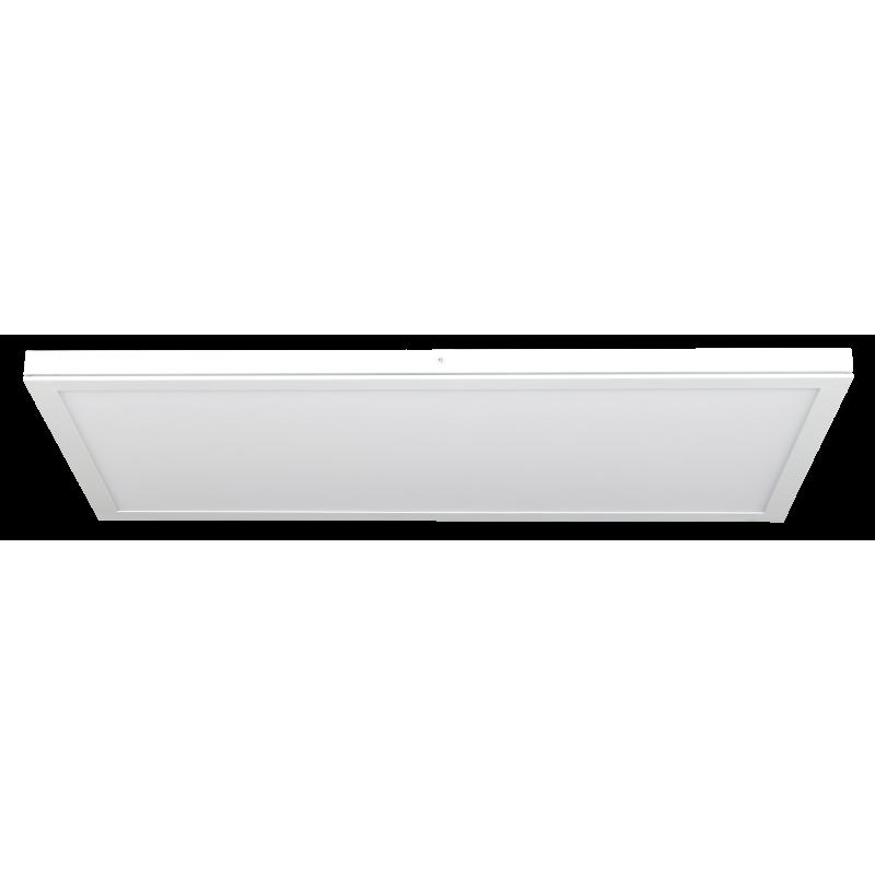 Plafón rectangular 30x60 36w MARCO BLANCO 2880lm
