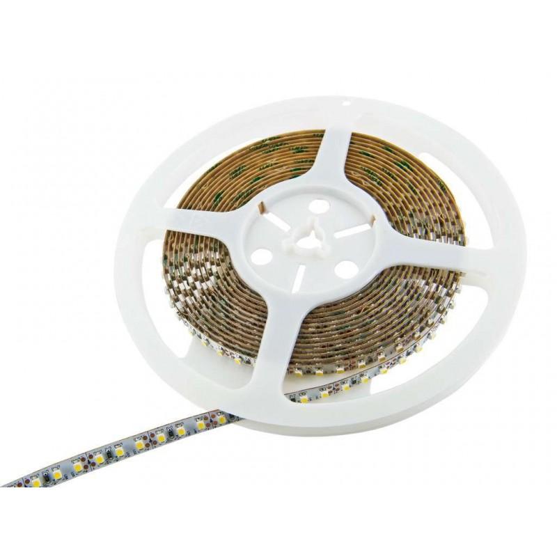 Tira de led flexible de 5 metros SMD 3528 120 led / m Blanco cálido  2700 / 3200K sin protección al agua