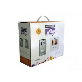 Kit Video Way Slim 1 linea Fermax color 4,3 Monitor TFT manos libres
