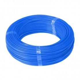 Cable unipolar 10mm color azul por metro