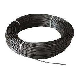 Cable unipolar libre halógenos 10mm color NEGRO por metro