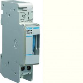 Interruptor Horario Hager EH010 16A 1 contacto, sin reserva