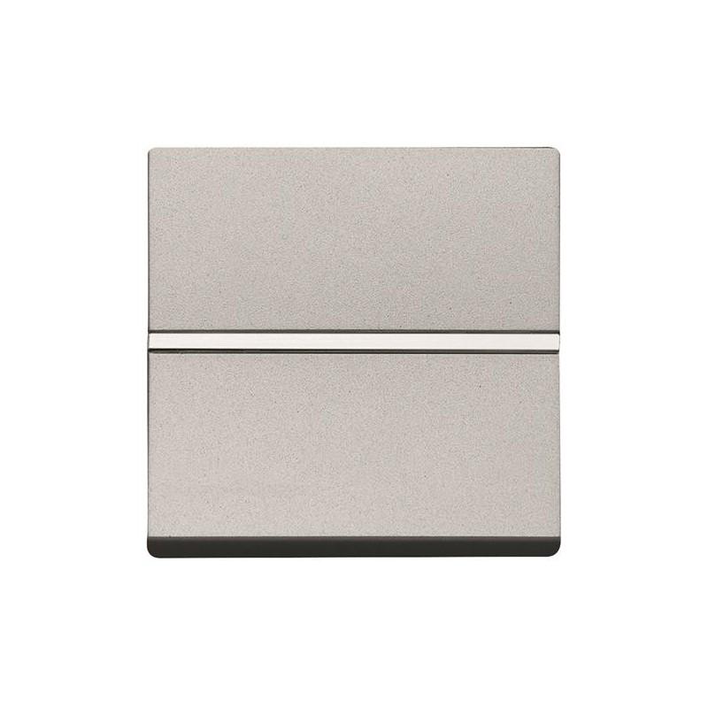 Conmutador Niessen Zenit plata N2202PL