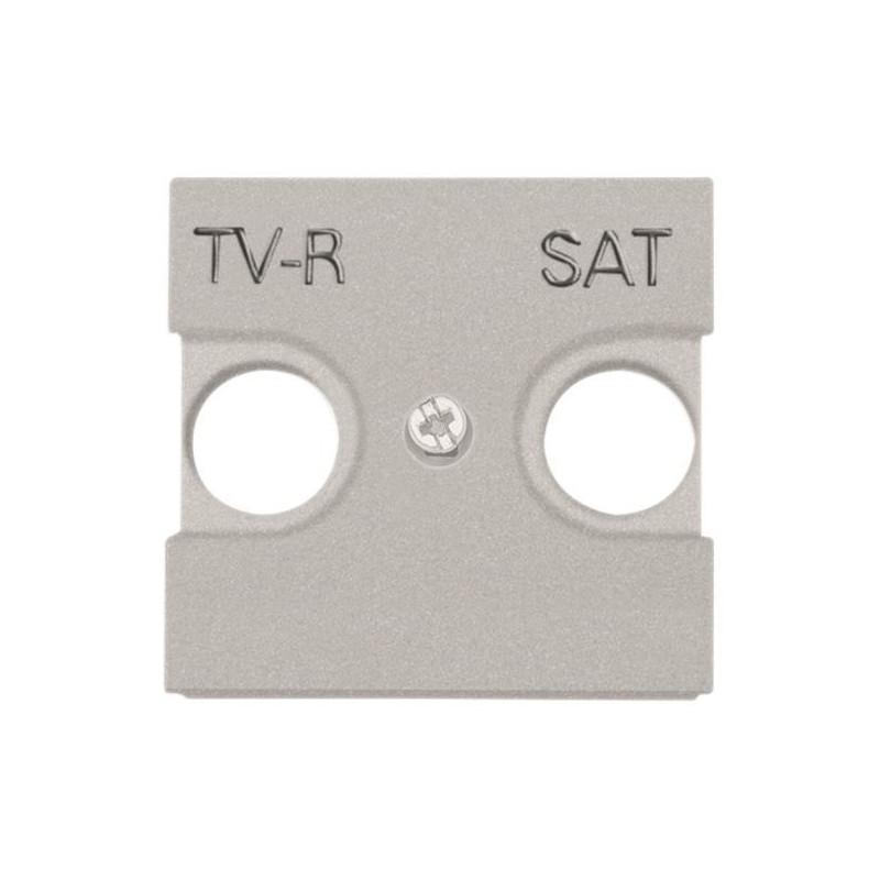 Tapa TV - SAT para serie Niessen Zenit plata N2250.1PL