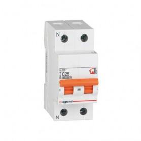 Magnetotérmico Vivienda Rx3 1P+N 25A Legrand