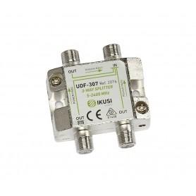 Distribuidor 1 entrada 3 salidas UDF-206 IKUSI