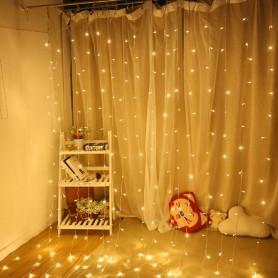 Girnalda decoración 3 x 3 metro. Bodas, escaparates, Navidad, bar.