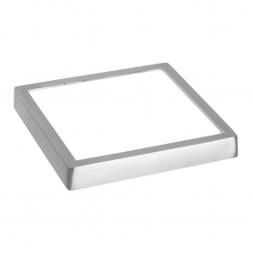 Downlight de superficie cuadrado 30w Niquel SUPER SLIM