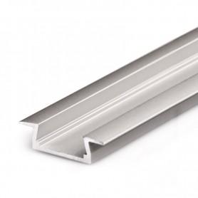 Perfil de aluminio para led 22x6mm 1 metro