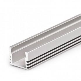 Perfil de aluminio para led 16x12mm 1 metro
