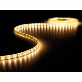 Tira de led flexible de 5 metros SMD 5050 60 led / m Blanco cálido 2700 / 3200K protección IP68