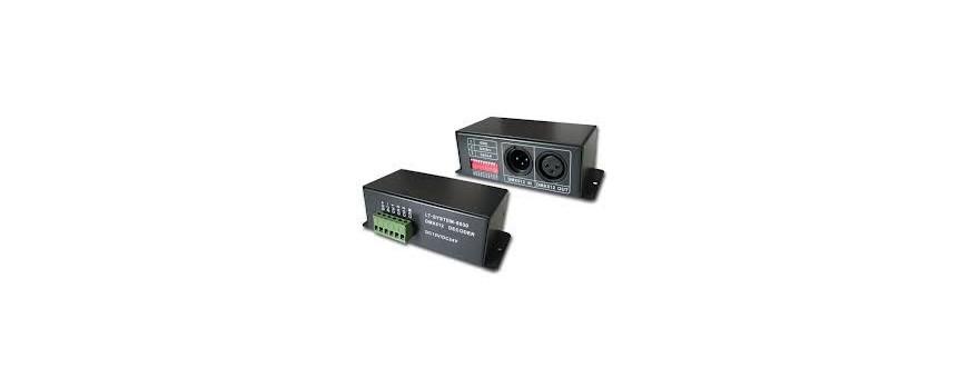 controladores y mesas dmx
