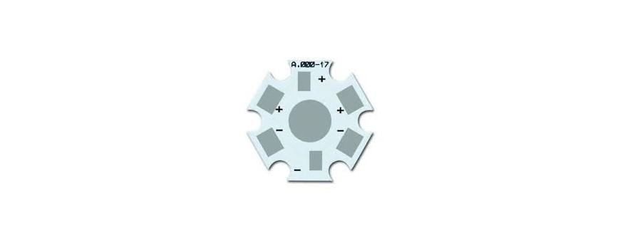 Placas PCB de aluminio para la reparación, o fabricación de lamparas led.