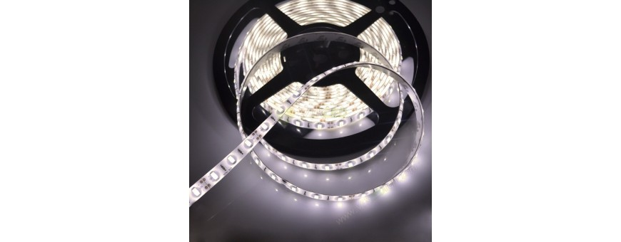 Tira de led de alta luminosidad 5630 con protección al agua IP65, hasta 30 lumenes por led