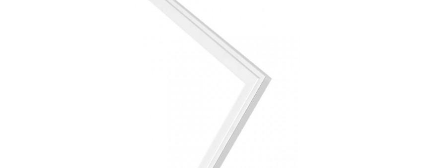 Paneles LED Marco blanco tipo 60x60 y 120 x 30
