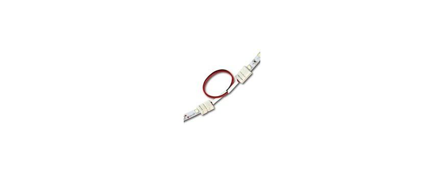 Conectores y cableados para tiras de led