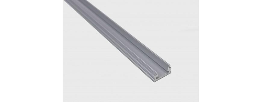 Perfil modelo ECO-SLIM para tira de 8mm