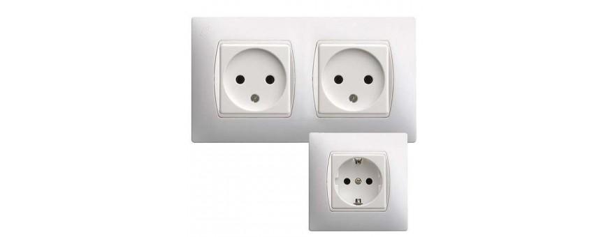 Serie de interruptores y enchufes de SIMON 27