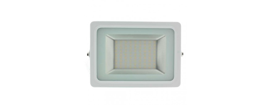 Focos proyectores LED color blanco orientables de alta potencia,