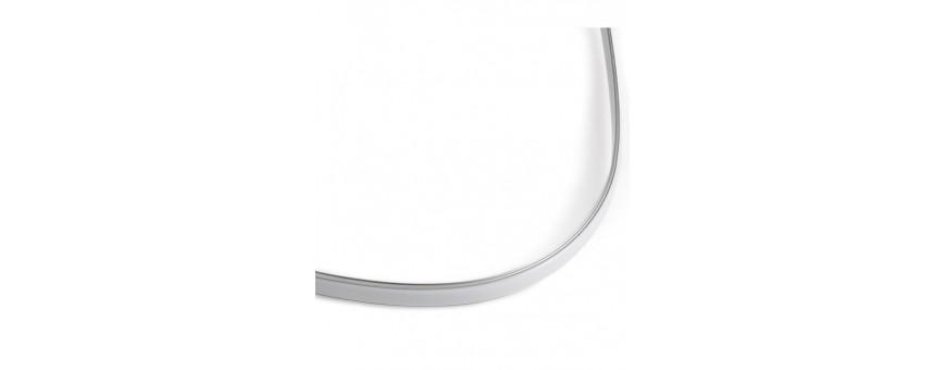 Perfil modelo FLEXIBLE, diseñado para zonas con curvas y decoración
