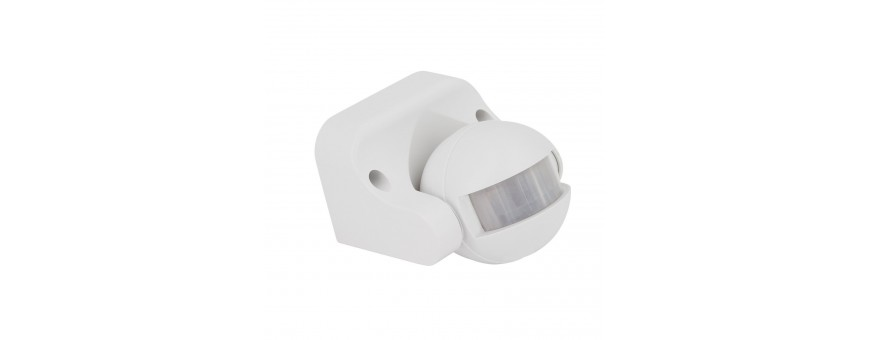 Sensores Movimiento 220v para superficie y empotrar
